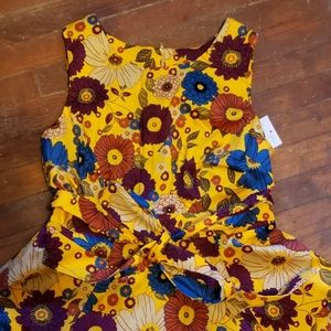 Modcloth floral vintage fit and flare